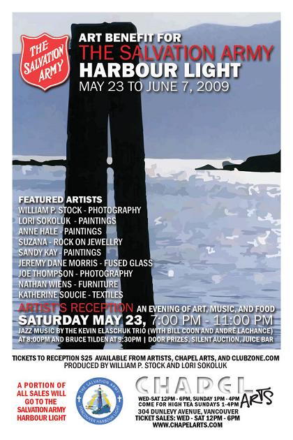 CHAPEL ARTS PRESENTS: A Benefit For The Salvation Army (Harbour Light),