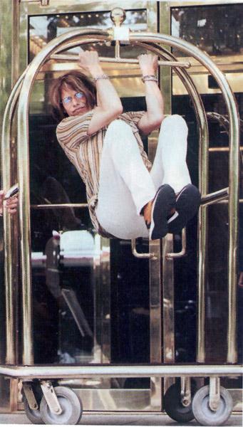 steven tyler when he was young. makeup Steven Tyler#39;s Big
